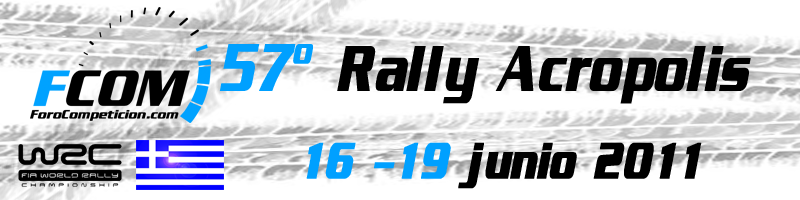 Apuestas WRC – Rally Acropolis 2011 – 16 – 19 junio
