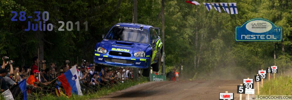 Apuestas WRC: Neste Oil Rally Finland 2011 (28-30 Julio)