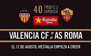 Apuestas de F?tbol ? Trofeo Naranja ? Valencia vs Roma