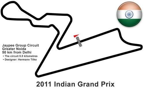 Apuestas FORMULA 1 AIRTEL GRAND PRIX OF INDIA 2011 (Carrera)