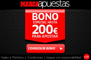 Bono marca apuestas