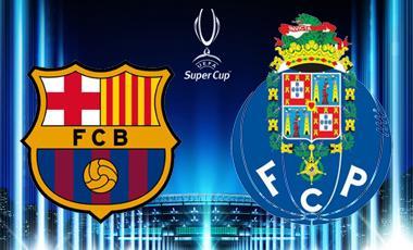 Apuestas de F?tbol ? Supercopa de Europa ? Barcelona vs Oporto