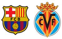 Apuestas de Fútbol –  Barcelona vs Villareal
